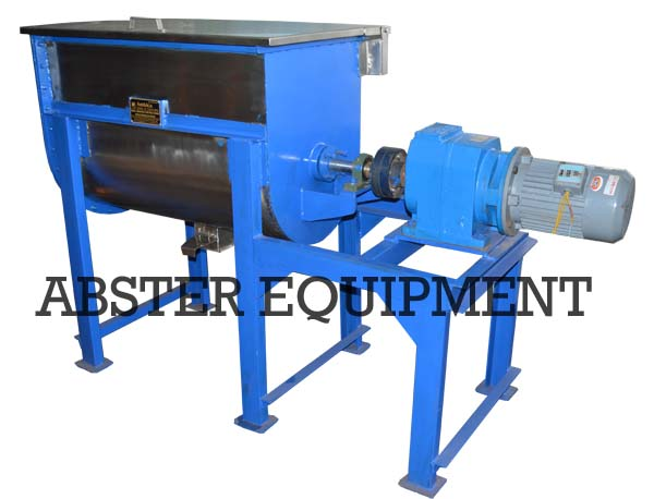 powder ribbon blender mixer machine
