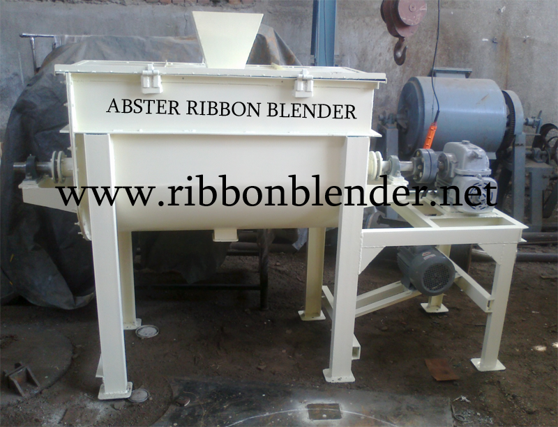 Stainless Steel Ribbon Blender
